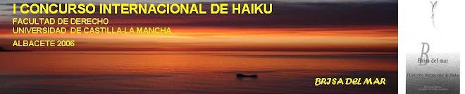 LIBRO BRISA DEL MAR: I CONCURSO INTERNACIONAL DE HAIKU