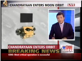 chandrayaan enters lunar orbit