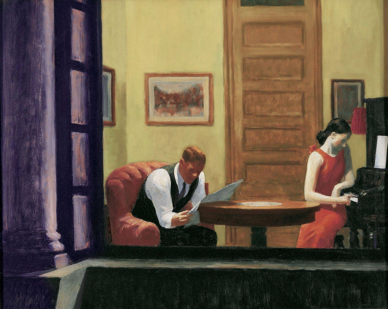 Edvard Hoper - Page 3 Hopper-room-in-new-york