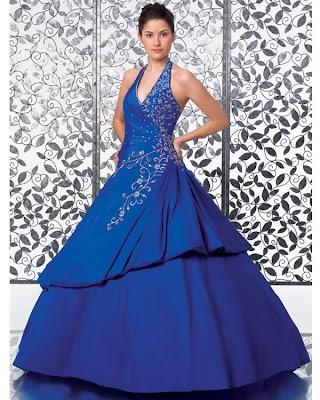 Vestido de 15 años - Color Azul