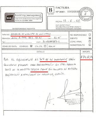 Recibo De Pago De Gobernacion De Miranda