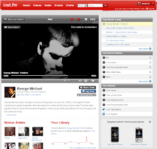 last.fm visual player