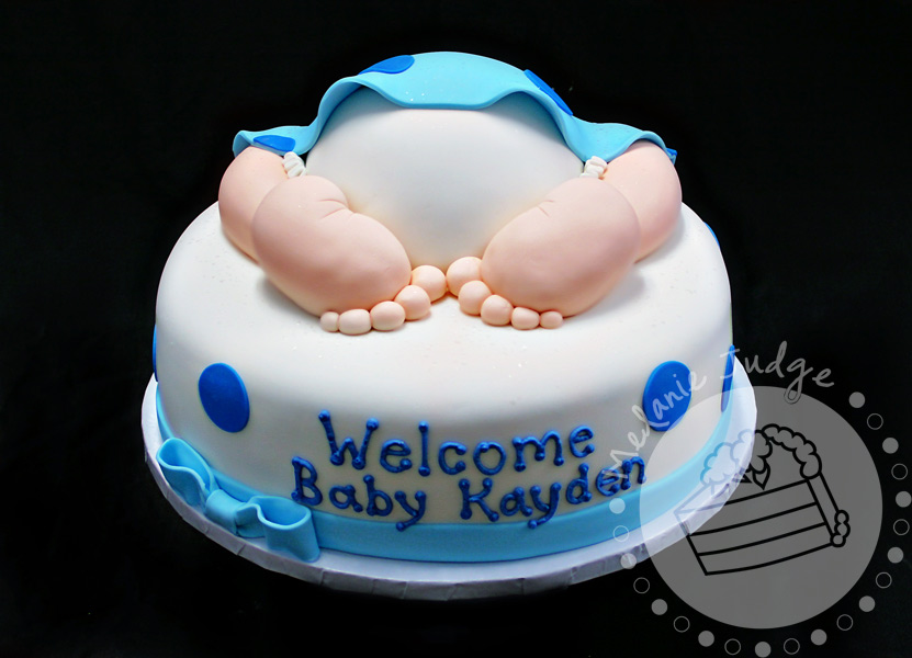 Cake Walk: Baby Shower Cake