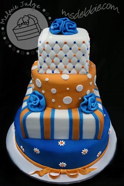 Cake Walk Gators Graduation Cake