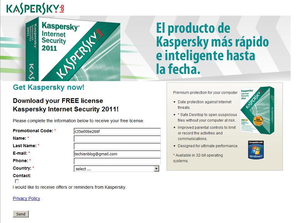 Kaspersky Licence Keys Generator 2010 2011