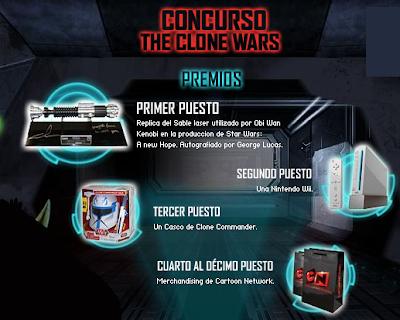 promocion argentina cablevision premios star wars clone wars 2010