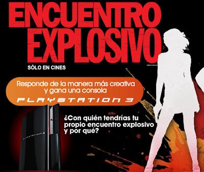 concurso consola Playstation 3 Encuentro Explosivo CanalFox