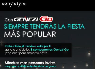 concurso sony style Mexico genezi