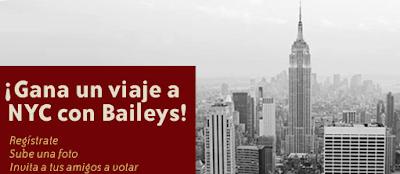 premios viaj nueva york promocion Baileys Mexico 2010 2011
