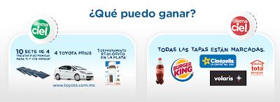 premios Autos Prius Toyota IPADs Tabletas electrónicas Departamento promocion dilema ciel Mexico 2011