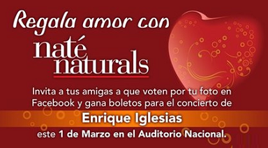 premio promocion regala amor nate natural revlon Mexico 2011