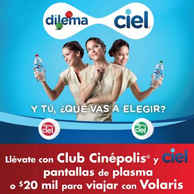 premios promocion dilema ciel club cinepolis Mexico 2011
