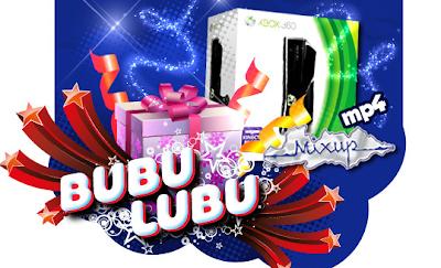 premio xbox + kinect MP4 + dotacion de bubulubus, tarjeta Mixup + dotacion de bubulubus promocion reto bubulubu Mexico 2011