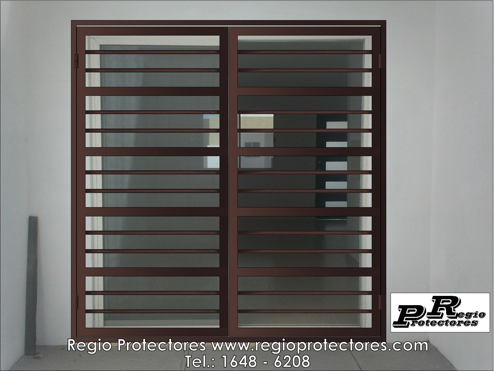 Regio Protectores, Reja para puerta corrediza, Los Arrecifes, Opción