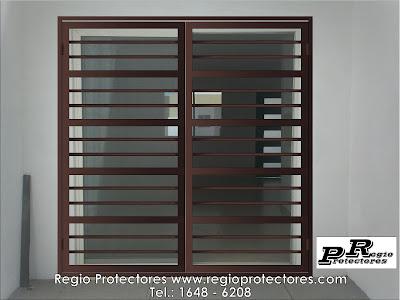 Regio protectores regio protectores reja para puerta Puertas corredizas hierro