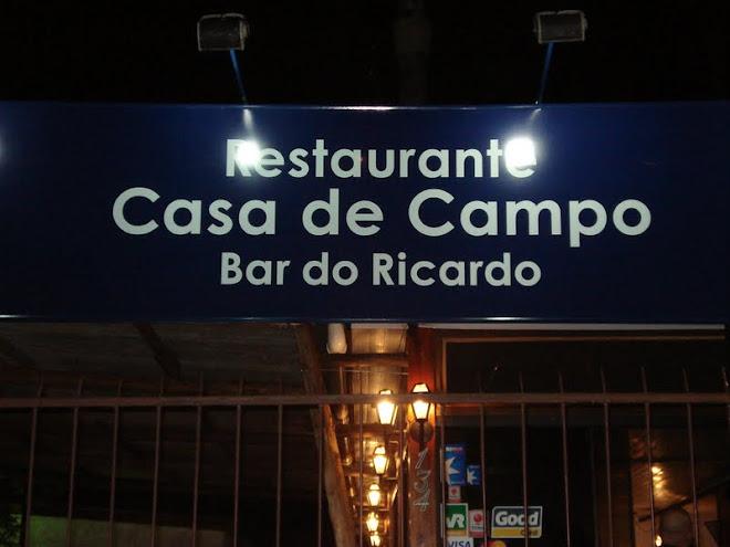 Restaurante casa de campo bar do ricardo for Restaurantes casa de campo