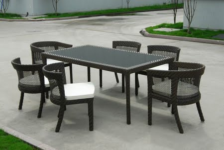 furniture _____ ALUMINIUM rattan furniture