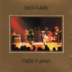 Deep Purple Made In Japan CD cover