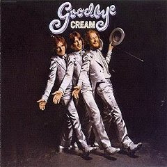 Cream Goodbye album cover