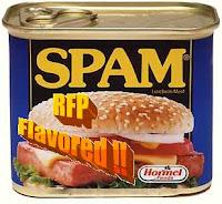 Get help, Stop RFP Spam