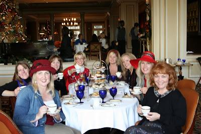 Ritz Carlton Pasadena Tea Room