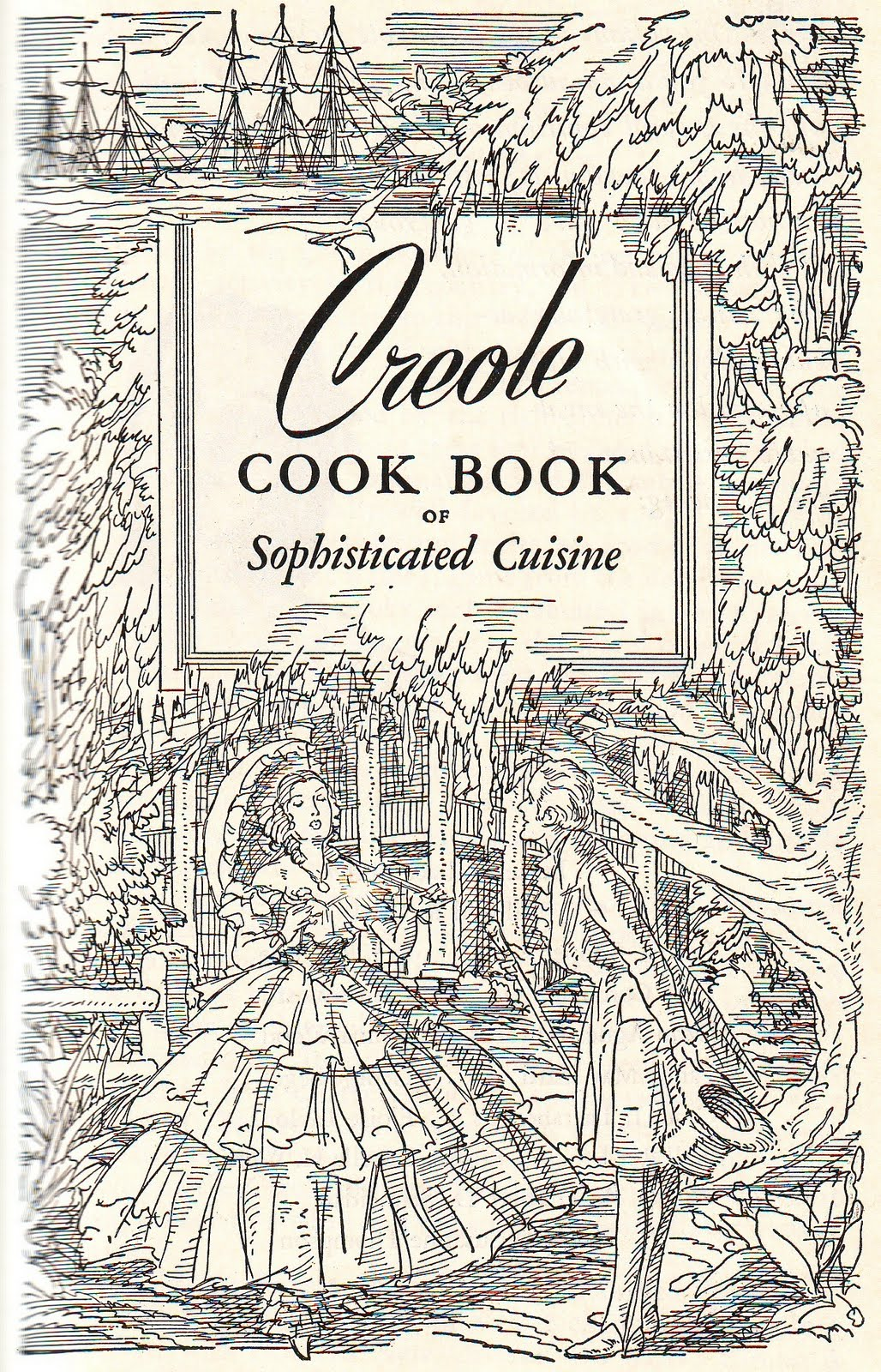 Time Travel Kitchen Creole Coloring Book