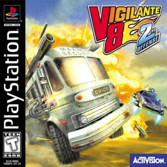 download Vigilante 8: 2nd Offense PS1
