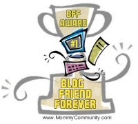Blogger Friend Award