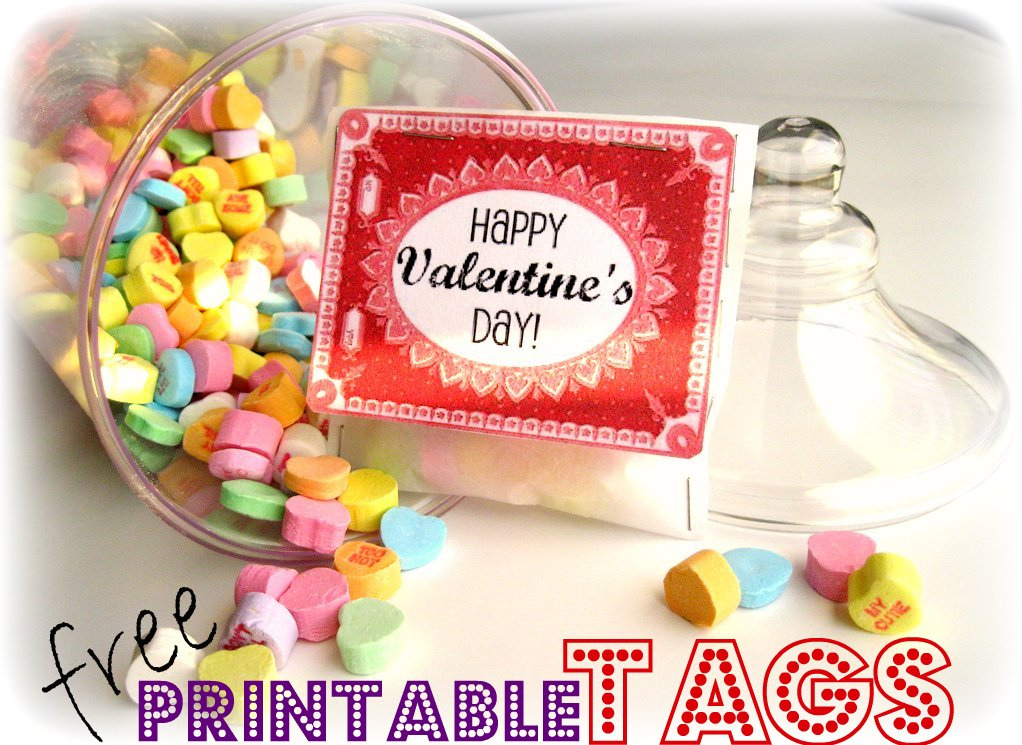 image about Printable Valentine Tags referred to as Peppermint Plum: Printable Valentine Tags