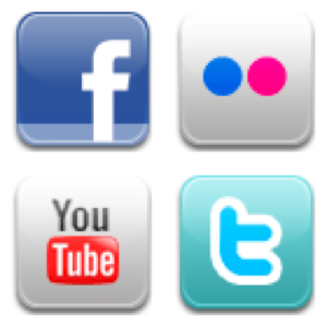 twitter facebook youtube 