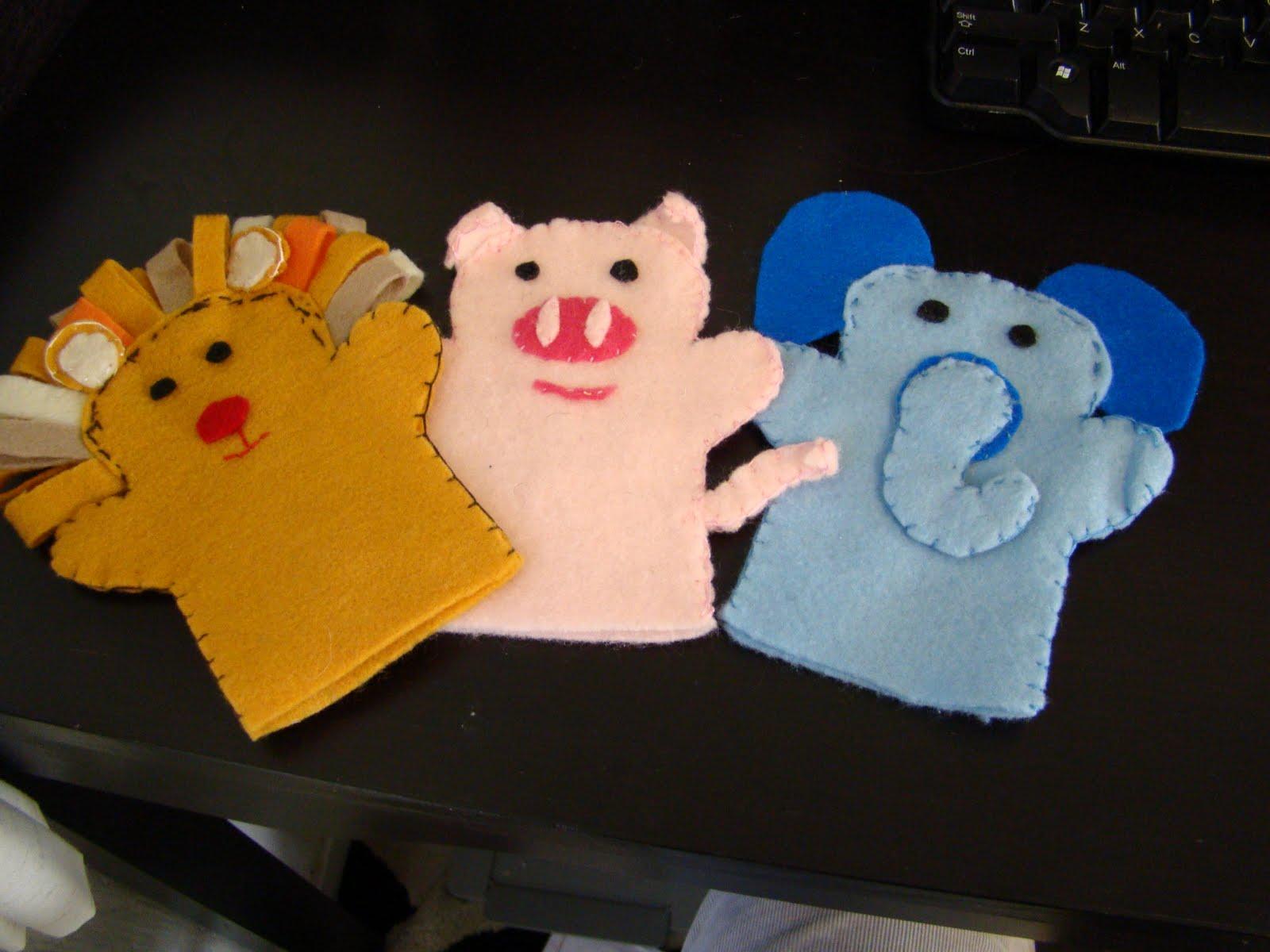 hand puppet pattern