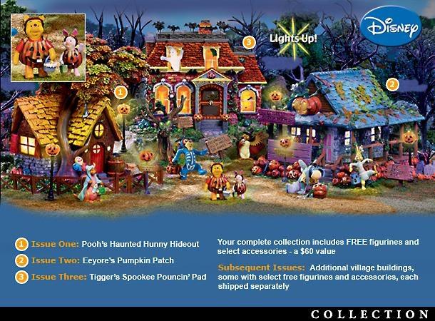 Halloween Fun Blog Winnie The Poohs Haunted Acre Halloween Village