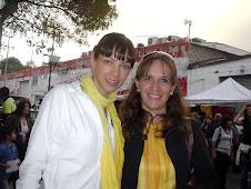 2008 Abril 18 - Con Celina del Villar esposa de Benny