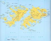 mapa de malvinas en disputa