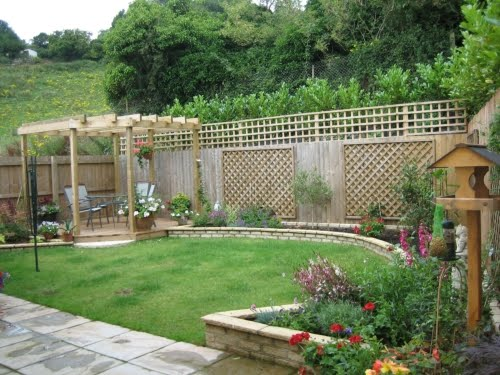 Modern garden landscaping ideas for Modern garden ideas