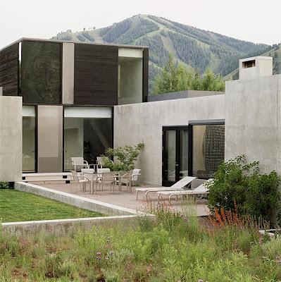 modern gardens, luxury residential landscaping
