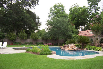 luxury landscape architecture design, home gardens