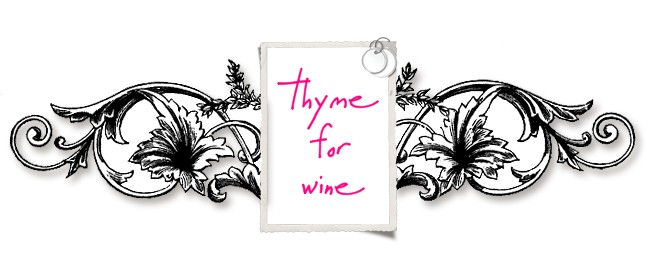 thyme for wine