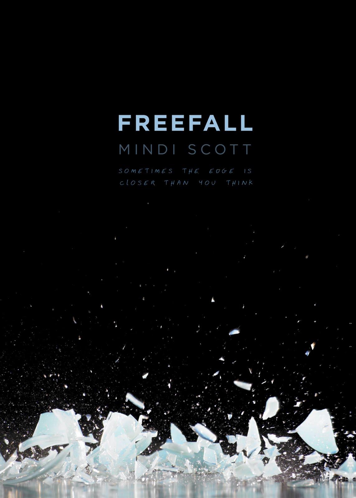 Minimalist Ya Book Covers ~ Readergirlz story secrets freefall by mindi scott