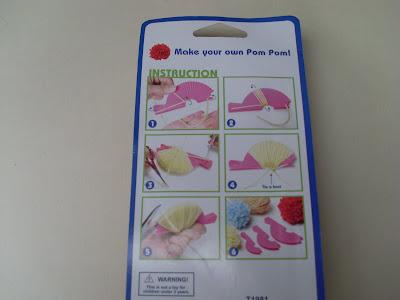 plastic pom pom maker instructions