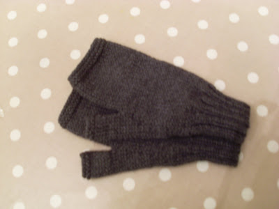 Magweeds Mayhem Mens Fingerless Gloves