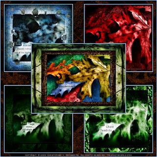 Fallen Series Image Collage (c) Copyright 2009 Christopher V. DeRobertis. All rights reserved. insilentpassage.com