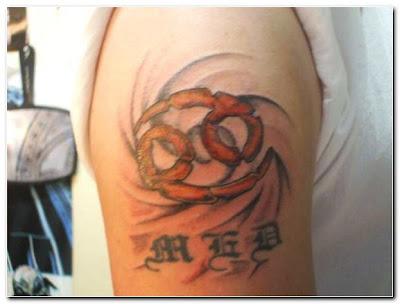 Symbol Cancer Zodiac Tattoos Crabs Symbol Sign Cancer Zodiac Tattoos