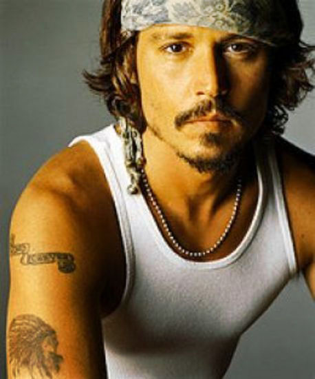 Johnny Depp's Many Tattoos 5