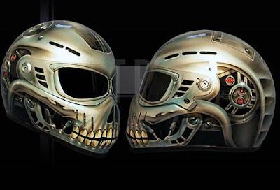 Skull And Snake On A Skateboard Melting