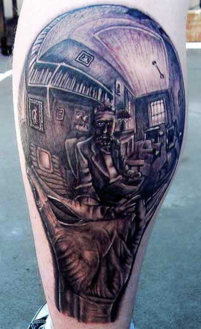 3D Antique Tattoos Urban Art