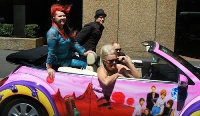 band in car airbrush