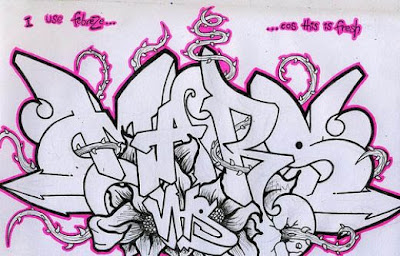Wildstyle Graffiti Sketches