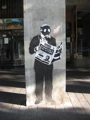 Street on Wall Graffiti