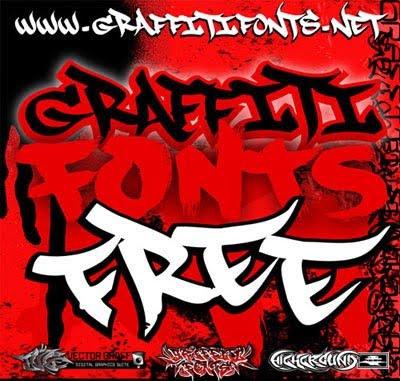 Graffiti Alphabets 3D Font